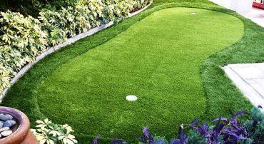 artificial putting green
